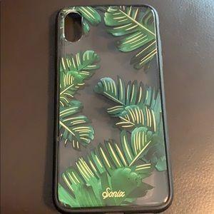 Sonix iPhone XS Max Bahama Palm Case